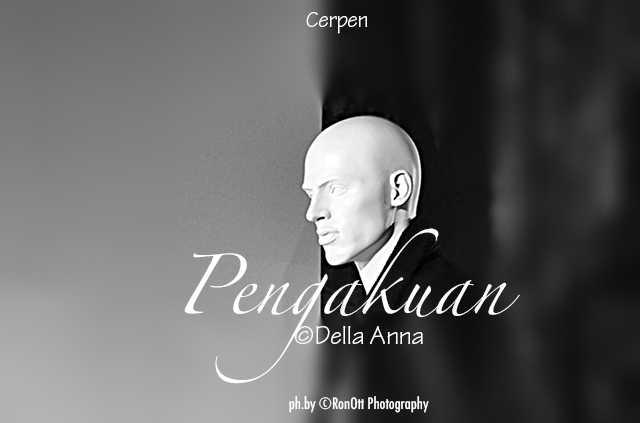 Cover Cerpen Pengakuan/foto Della Anna