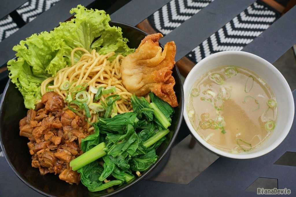 La Mian rasa Chicken Mushroom (ayam dan jamur) - dok.pri