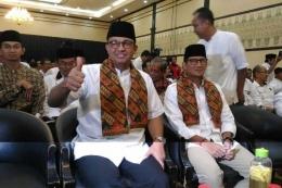 Gubernur dan Wakil Gubernur DKI Jakarta terpilih, Anies Baswedan-Sandiaga Uno (Ridwan Aji Pitoko/KOMPAS.com)