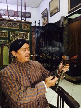 Eddy Indra Putra Ahli Pusaka Leluhur dan Budayawan Nusantara