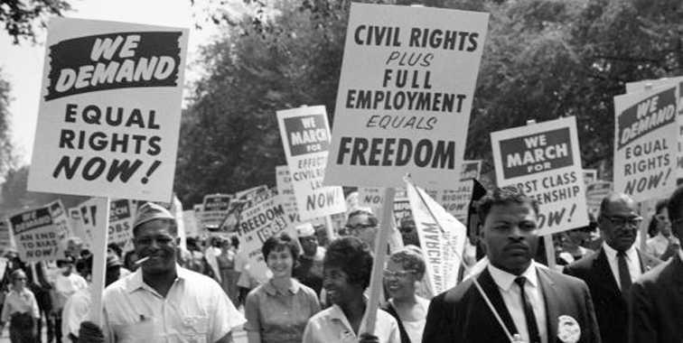 Gerakan Hak Sipil 1960an. Sumber: emaze.com
