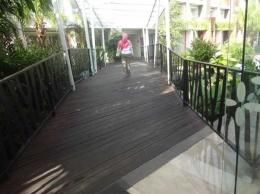 Jembatan Cinta (Loving Bridge) di lantai 5 (Sumber: dokumen pribadi)