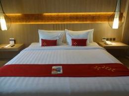 """Menginap di kamar yang nyaman, luxury dan """"mbetahi"""" di lantai 8 hotel (Sumber: dokumen pribadi)"""