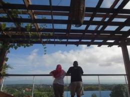 Pemandangan indah dari roof top yang tiada habisnya (Sumber: dokumen pribadi)