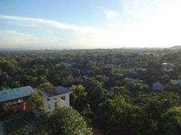 Pemandangan pantai Jimbaran, Kedonganan dan Tuban (Sumber: dokumen pribadi)
