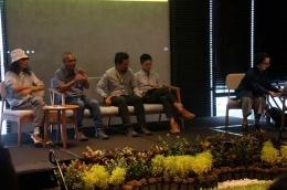 para pembicara dalam expert discussion (doc : Riana Dewi)