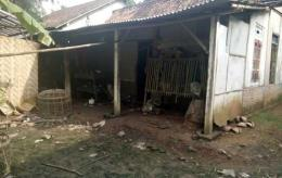 Rumah Bapak Miftahussurur yang akan dibedah oleh Ansor Banser (dok. Ma'ruf)