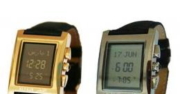 Jam Tangan Canggih pengingat waktu sholat dan Kiblat (Sumber: pricearea.com)
