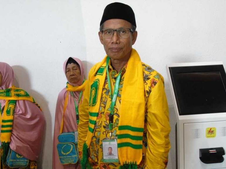 Pak Mustopo Menjalankan Ibadah Umrah (Dok. Pribadi)
