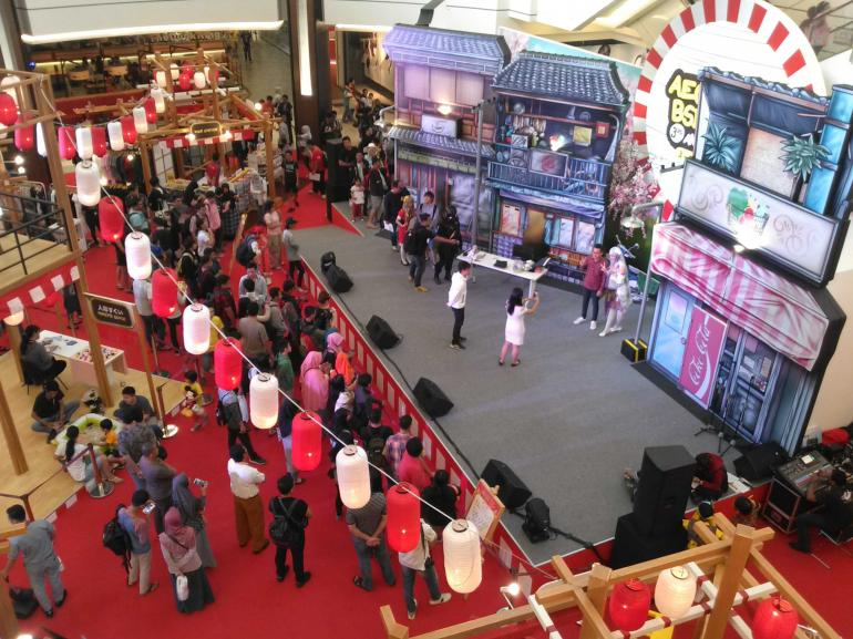 suasana atrium Aeon Mall BSD City