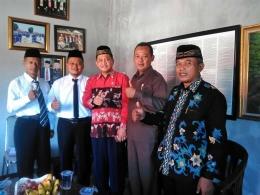 Anggota DPRRI bersama Ketua PGSI Banyumas dan Dewan Pembina (Foto; Dokpri)