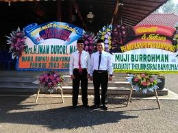Ketua PGSI Banyumas Muslikhudin S. Pd, I berdasi hitam (Foto; Dokpri)