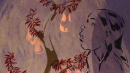 Sebuah adegan dalam The Girl Without Hands (sumber: siskelfilmcenter)