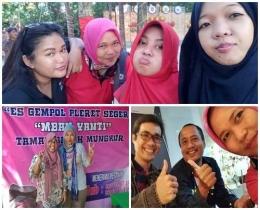Alhamdulillah, kopdarrr. Bloger Semarang dan Kompasianer Semarang. Dadah-dadah ke Mbak Wahyu Sapta, om Wang Eddy dan Om Agung BS. Dokpri