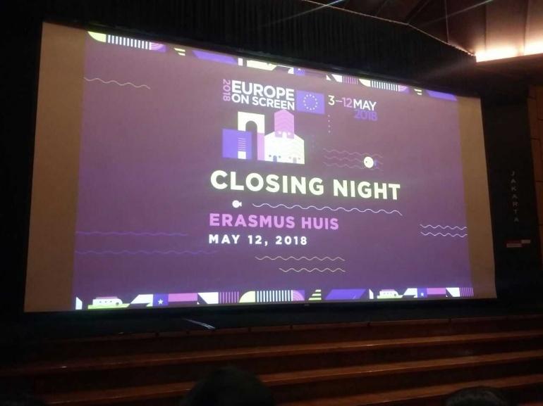Malam penutupan Europe on Screen 2018 (dokpri)