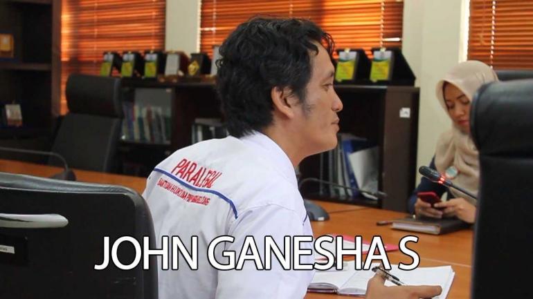 Dokpri | JOHN GANESHA PEKERJA BANTUAN HUKUM BANGKA BELITUNG