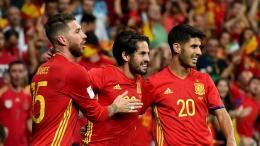 Timnas Spanyol (Foto: goal.com)