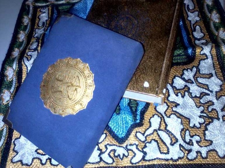 Kitab untuk tadarus di Bulan Ramadhan (Dokumentasi Pribadi)