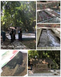 Komplek pemakaman Ratu Syarifah Fatimah, Ratu Banten di Pulau Edam