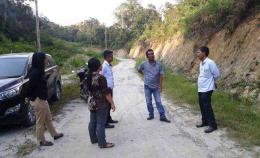 Ombdusman Sumut didampingi Forum Masyarakat Peduli Habornas mendatangi lokasi (Facebook/FMP Habornas)