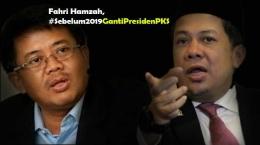 Presiden PKS Sohibul Imam (Kiri) dan Wakil Ketua DPR Fahri Hamzah (Kanan) [Diolah dari Jurnas.com dan Netralnews.com]