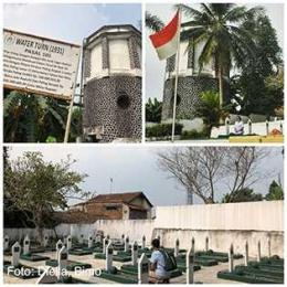 Makam Pahlawan Sirna Rata di jalan belakang Museum Multatuli| Dokumentasi Diella dan Bimo
