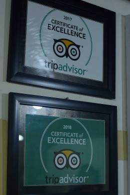 Certificate of excellence (dok.pribadi)