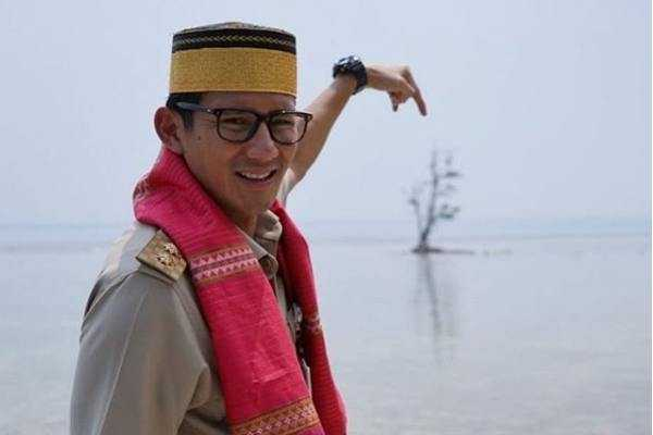 Sandi Uno di Kepulauan Seribu, Sumber : solopos.com