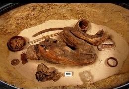 Mumi koleksi museum Turin yang diugunakan untuk mengungkap rahasia bahan yang digunakan dalam mumifikasi. Sumber: Stephen Buckley/ University of York