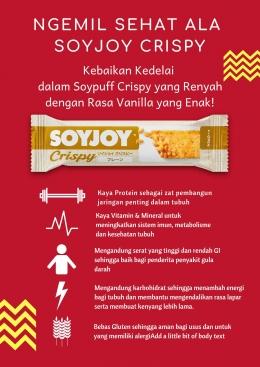 Infografis Manfaat Soyjoy (Dokumen Pribadi)