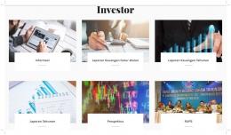 Halaman Khusus Investor di Website Campina