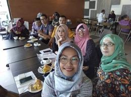Bersama Kompasianer Semarang dan sekitarnya di acara talkshow. (Dokpri).