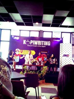 JNE Kopriwriting Semarang    foto dokpri
