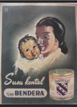Iklan Lawas Susu Kental Manis/tangkapan layar pribadi