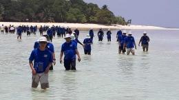 Salah satu spot wisata gugusan pulau Derawan (dok Pribadi)