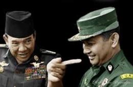 Sukarno dan Suharto/Gardanasional.id