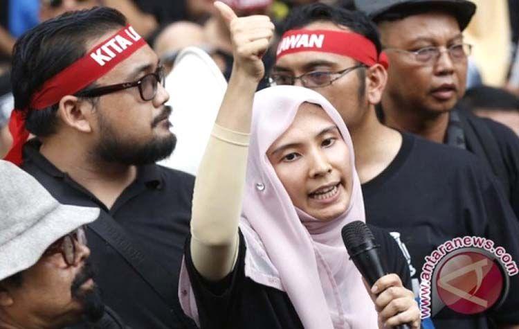 Nurul Izzah Anwar, putri Anwar Ibrahim. Ia dijuluki Putri Reformasi. (Foto: antaranews.com)