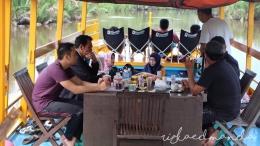 Perjalanan Menuju Camp Leakey, Taman Nasional Tanjung Puting (dokpri)