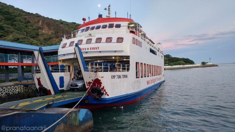 Ferry Gorontalo-Togean-Ampana