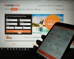 Aplikasi dan Website Pegipegi