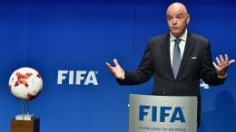 Presiden FIFA: Gianni Infantino. (Foto: Reuters)