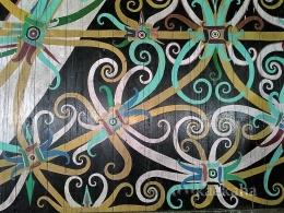 Dinding Lamin yang fullcolour (Foto ; @kaekaha)
