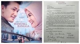 Surat Hanum ke Rektor UMS/TribunNews.com