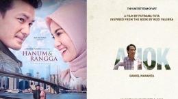 Film Hanum dan Rangga dan film A Man Called Ahok berebut Penonton [Detik.com]