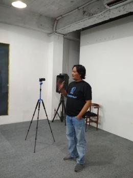 Yon Bayu - Vlogger & Blogger [Foto: Dok Click]
