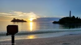 Timelapse matahari terbit di Pantai Pasir Labengki Kecil - Dokpri