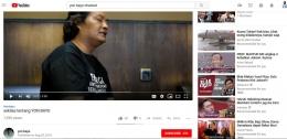 YouTube Channel Yon Bayu [Foto: Dok Pri]
