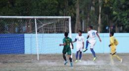 Sepak bola gajah PSIS versus PSS Sleman, sejarah kelam sepak bola nasional I Gambar : Tribunnews