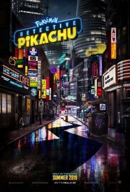 poster film detective pikachu 2019 (sumber : pokemon.com)
