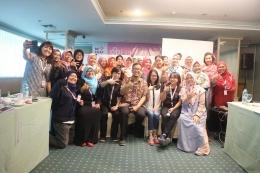 Temu Alumni Coding Mum Indonesia seusai workshop Design Sprint